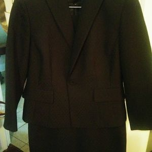 Evan Picone Ladies Black Suit Dress